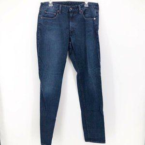 Bonobos Mens Classic Straight Jeans Blue 33 x 34